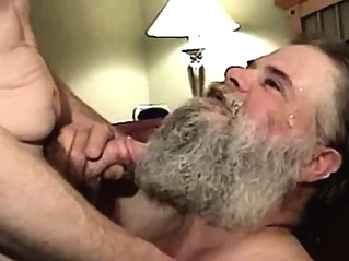 Dirty ex convict is sucking dick bears (gay) blowjob (gay) facial (gay)