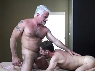 Hunk gets ass creampied blowjob (gay) daddies (gay) gays (gay)