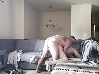 Daddy sucking & getting fucked by young bear amateur (gay) bareback (gay) bear (gay)