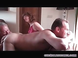 Cuckold Secrets of Sissy selling out his wife to BBC studs gay