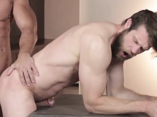 Bearded hunk sucks muscular stud gays (gay) hunks (gay) men (gay)
