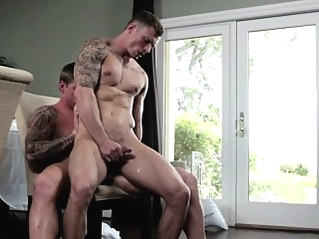 Tattooed muscle barebacking tight stud ass bareback (gay) cum tributes (gay) gays (gay)