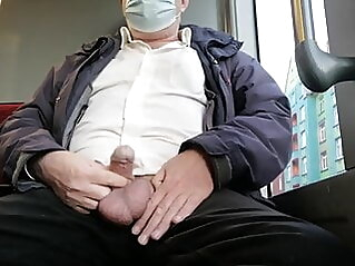 Ruined Cumshot in Public Traffic amateur bear daddy