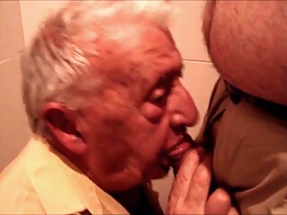 Not Grandpa gay suck and swallow gay amateur gay blowjob gay daddy